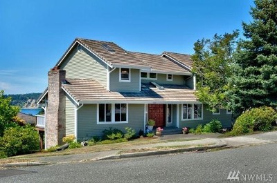 Tacoma Single Family Home For Sale: 1322 S Sunset Dr