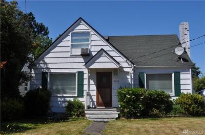 Tacoma WA Single Family Home For Sale: $230,000