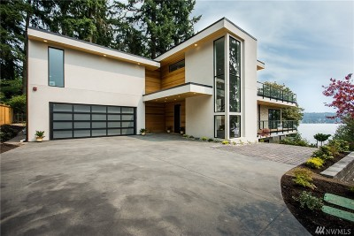 Bellevue Single Family Home For Sale: 3233 W Lake Sammamish Pkwy SE