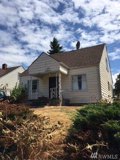 Tacoma WA Single Family Home For Sale: $185,000