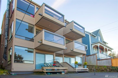 Seattle Condo/Townhouse For Sale: 63 W Etruria St #6