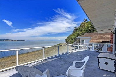 Island County Single Family Home For Sale: 612 Beach View Lane