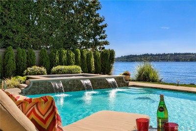 Kirkland Single Family Home For Sale: 12705 Holmes Point Dr NE