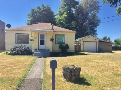 Tumwater Single Family Home For Sale: 213 Gerth St SW