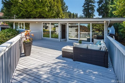 Mercer Island Single Family Home For Sale: 3426 72nd Ave SE