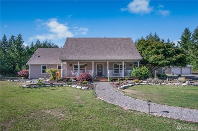 Tenino Single Family Home For Sale: 5216 Churchill Rd SE