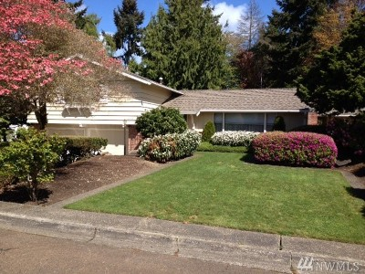 Fircrest Single Family Home For Sale: 1023 Panorama Dr