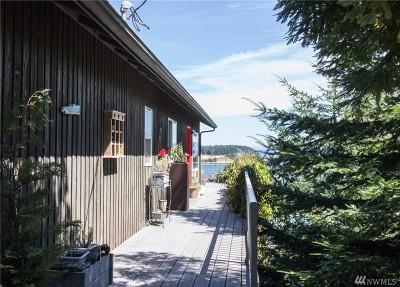 Lummi Island Single Family Home For Sale: 1222 Beach Ave