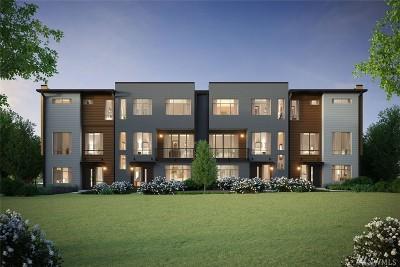 Bellevue Condo/Townhouse For Sale: 1668 163rd Place NE #F-2