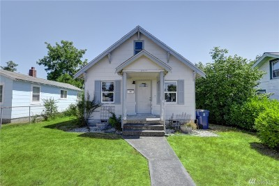 Tacoma WA Single Family Home For Sale: $156,500