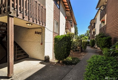 King County Condo/Townhouse For Sale: 3507 S 160th St #C6