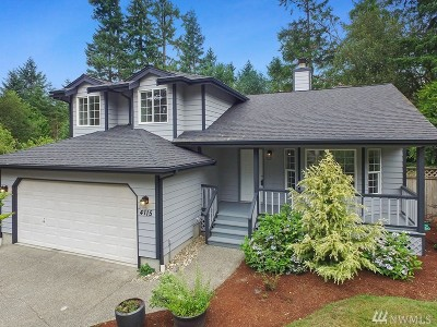 Gig Harbor Single Family Home For Sale: 4115 52nd St Ct NW