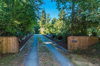 Island County Single Family Home For Sale: 2556 Lake Forest Dr