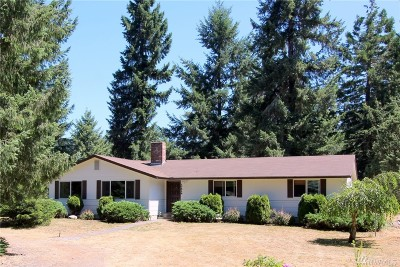 Tenino Single Family Home For Sale: 17512 Crowder Rd SE
