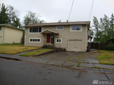 Mountlake Terrace Single Family Home For Sale: 4605 224th Place SW