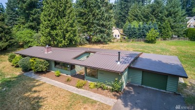 Woodinville Single Family Home For Sale: 15606 NE 191st St