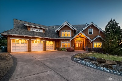 Bellingham Single Family Home For Sale: 4302 Samish Crest Lane