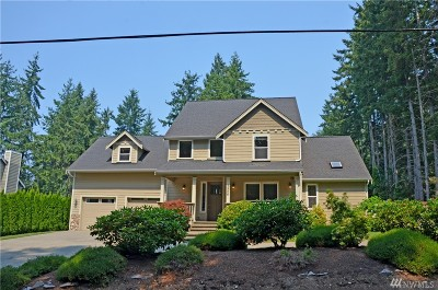 Gig Harbor Single Family Home For Sale: 3906 Murphy Dr NW
