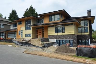 Bellevue Single Family Home For Sale: 9858 NE 15th St