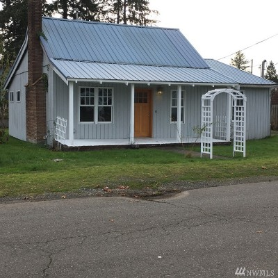 Forks WA Single Family Home For Sale: $138,000