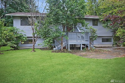 Bothell Single Family Home For Sale: 410 170th Place SW