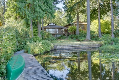 Woodinville Single Family Home For Sale: 9505 Crystal Lake Dr