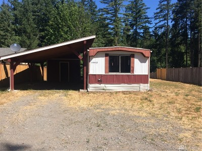 Rainier Single Family Home For Sale: 14412 Vail Cut Off Rd SE