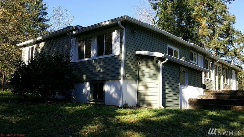 Little House With 1 Car Garage For Sale In Shelton Wa: 3441 W Shelton Matlock Rd Shelton, WA.