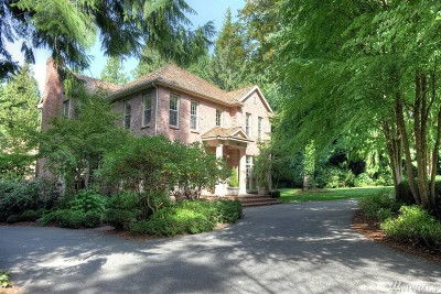 Woodinville Single Family Home For Sale: 19827 223rd Ave NE