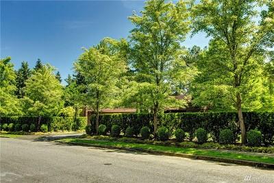 Medina Single Family Home For Sale: 2022 77th Ave NE