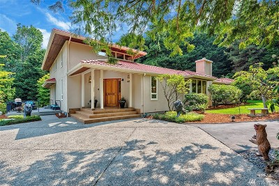 Woodway Single Family Home For Sale: 11414 Bella Coola Rd