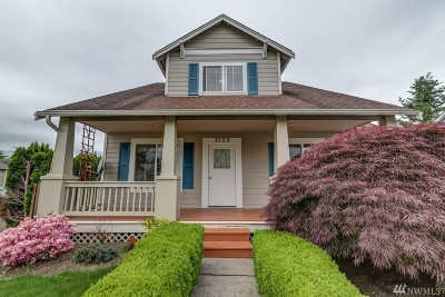 Lynden Single Family Home For Sale: 2125 Cherry