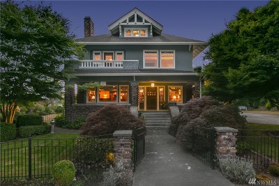 Snohomish Single Family Home For Sale: 312 Avenue D