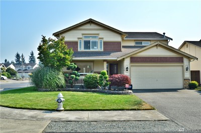 Spanaway Single Family Home For Sale: 7920 206th St Ct E