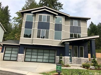 Bellevue Single Family Home For Sale: 3438 168th Ct E #Lot2
