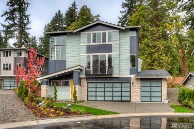 Bellevue Single Family Home For Sale: 3422 168th Ct E #Lot3