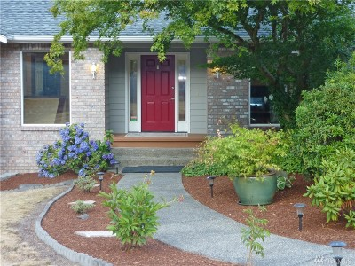 Gig Harbor Single Family Home For Sale: 3516 View Place North NW