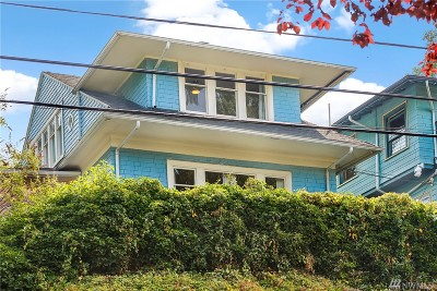 Seattle Single Family Home For Sale: 3105 E Spring St