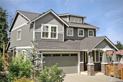 Issaquah Single Family Home For Sale: 1834 James Bush Rd NW
