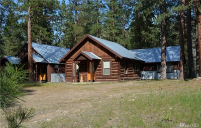 Winthrop WA Single Family Home For Sale: $299,000