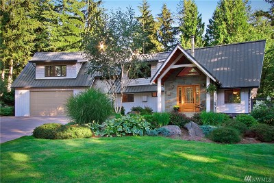 Issaquah Single Family Home For Sale: 26515 SE 172nd St