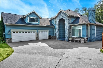 Stanwood Single Family Home Contingent: 8620 Knutson Rd