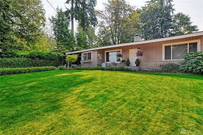 Kenmore Single Family Home Contingent: 8027 NE 155th St