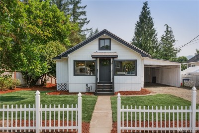 Snoqualmie Single Family Home For Sale: 39664 SE Spruce St
