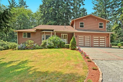 Stanwood Single Family Home For Sale: 15728 58th Ave NW