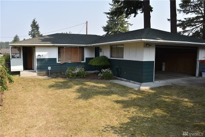 Everett Single Family Home For Sale: 6811 Commercial Ave