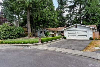 Kirkland Single Family Home For Sale: 12816 NE 68th St