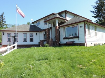 Centralia Single Family Home For Sale: 134 Nugget Dr