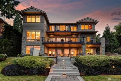 Mercer Island Single Family Home For Sale: 7406 N Mercer Wy