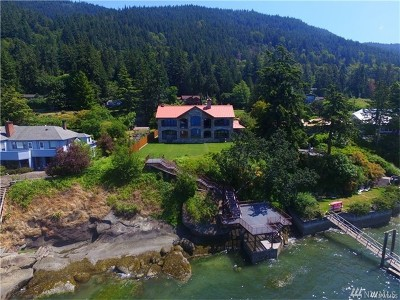 Bellingham Single Family Home For Sale: 903 Chuckanut Shore Rd